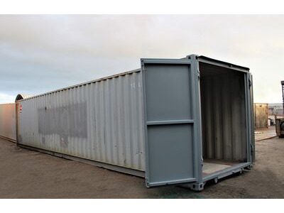 Used 40ft Shipping Containers For Sale 40ft ISO S1 doors click to zoom image