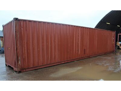 Used 40ft Shipping Containers 40ft Used Container - S4 Doors click to zoom image