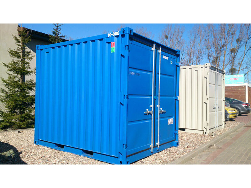 SHIPPING CONTAINER 10ft steel store CX10 click to zoom image