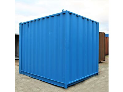 10ft Used Shipping Containers 10ft Used Shipping Container - S2 Doors click to zoom image