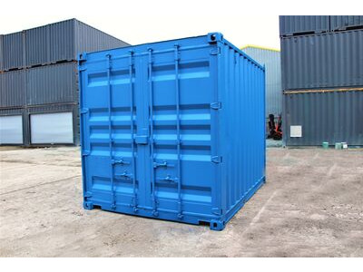 10ft Used Shipping Containers 10ft Used Shipping Container - S2 Doors