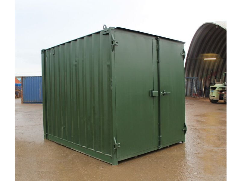 10ft Used Shipping Containers 10ft S1 Doors click to zoom image