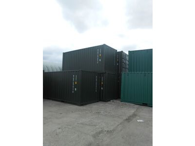 20ft New Shipping Containers 20ft Once Used S2- Original Doors click to zoom image