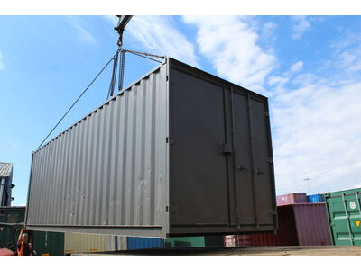 20ft New Shipping Containers 20ft Once Used - S3 Doors