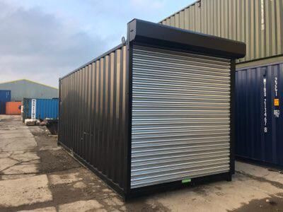 20ft New Shipping Containers 20ft Once Used - S4 Doors