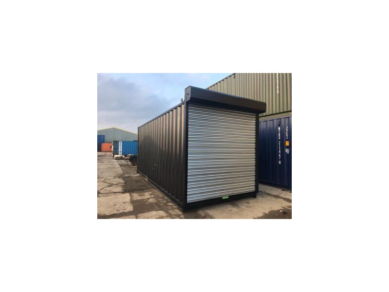 20ft New Shipping Containers 20ft Once Used - S4 Doors click to zoom image