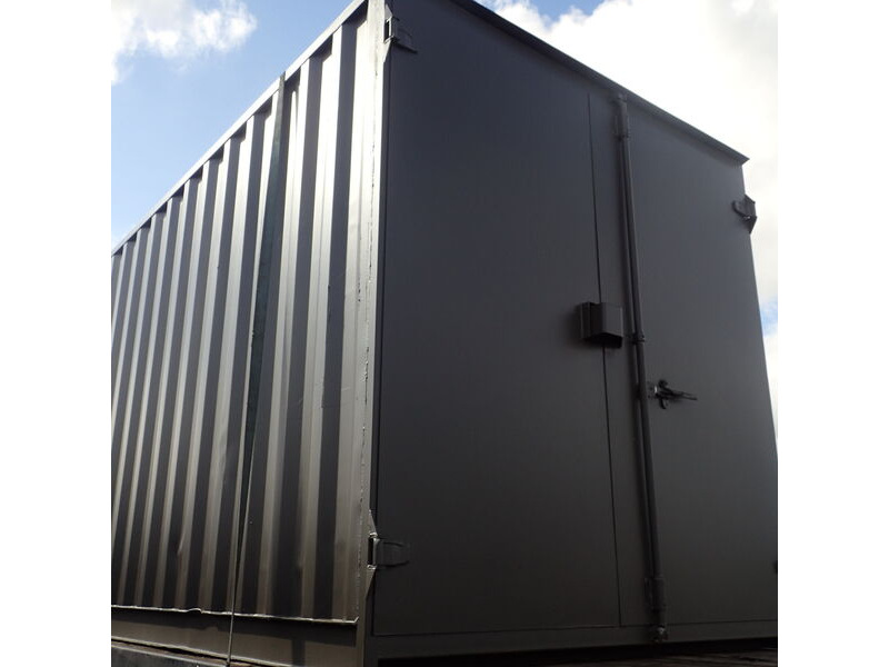 40ft New Shipping Containers 40ft New Container - S1 Doors click to zoom image
