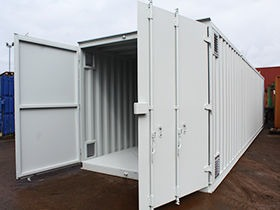Extra Wide Shipping Containers