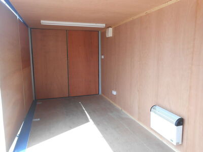 Shipping Container Conversions 20ft S1 side doors