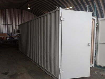 Shipping Container Conversions 20ft Ply Lined and Insulated