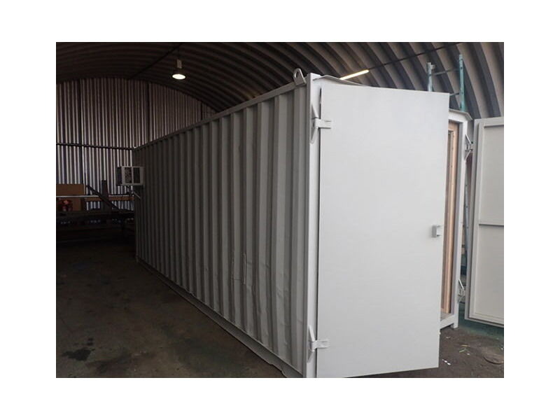 Shipping Container Conversions 20ft Ply Lined and Insulated click to zoom image