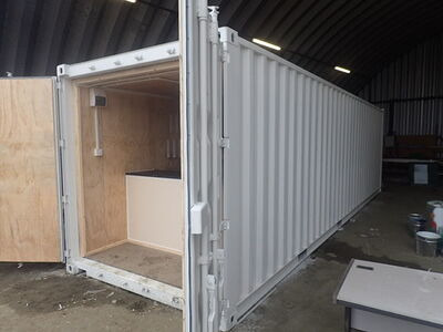 Shipping Container Conversions 30ft equipment store