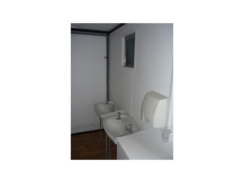 CONTAINER CONVERSIONS 10ft toilet block click to zoom image