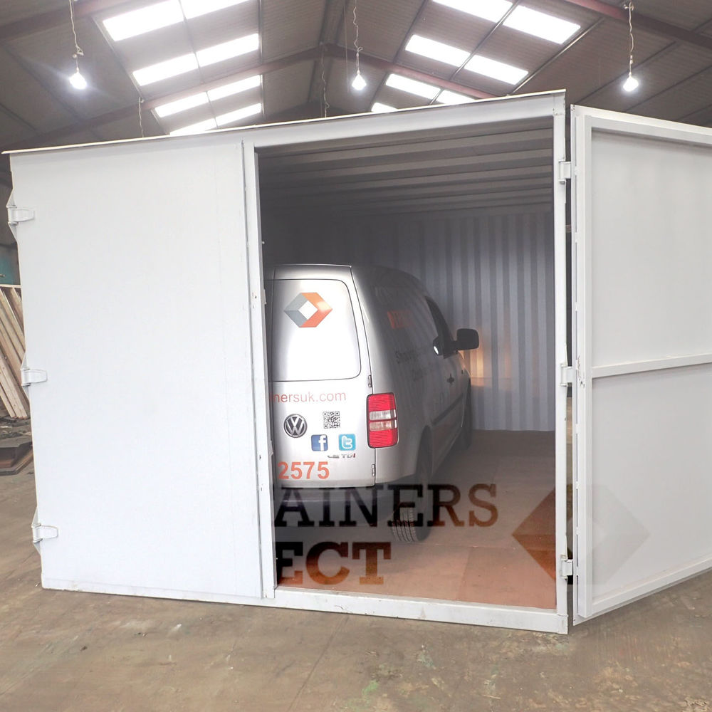 Custom Shipping Container Car Garage: Container Conversions CarTainer 1510 1510