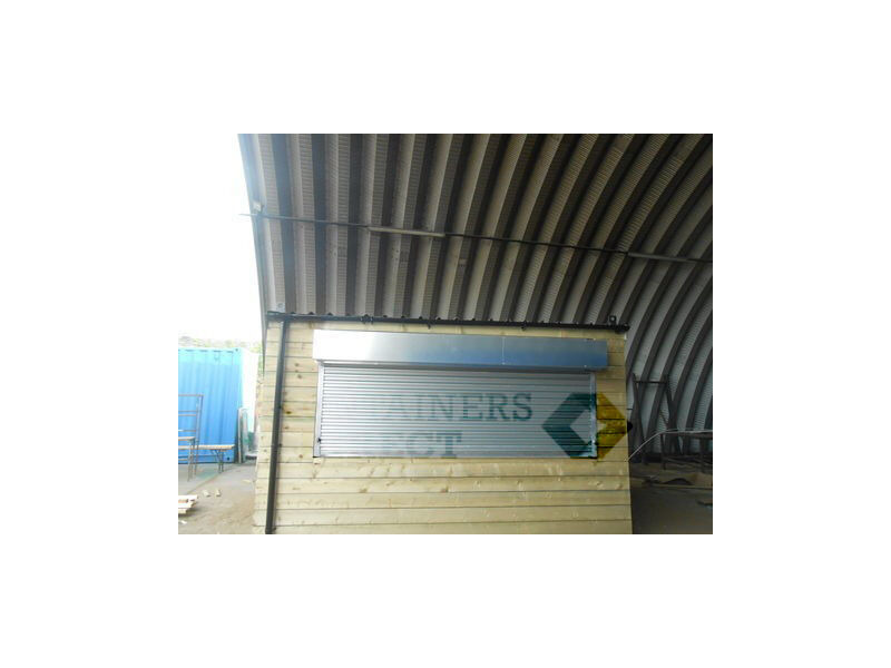 Shipping Container Conversions 13ft x 9ft cladded tuck shop click to zoom image