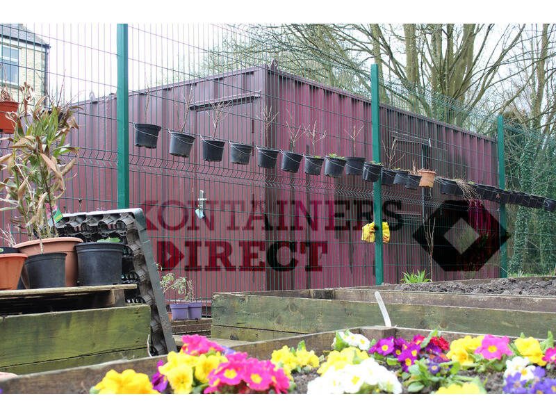 Shipping Container Conversions 20ft x 16ft workshop click to zoom image