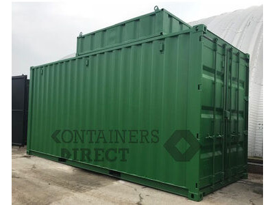CONTAINER CONVERSIONS 20ft boiler house with top box