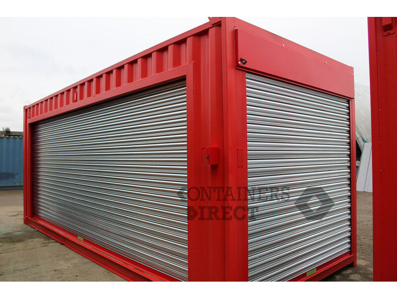 Shipping Container Conversions 2 x 20ft pop event units click to zoom image