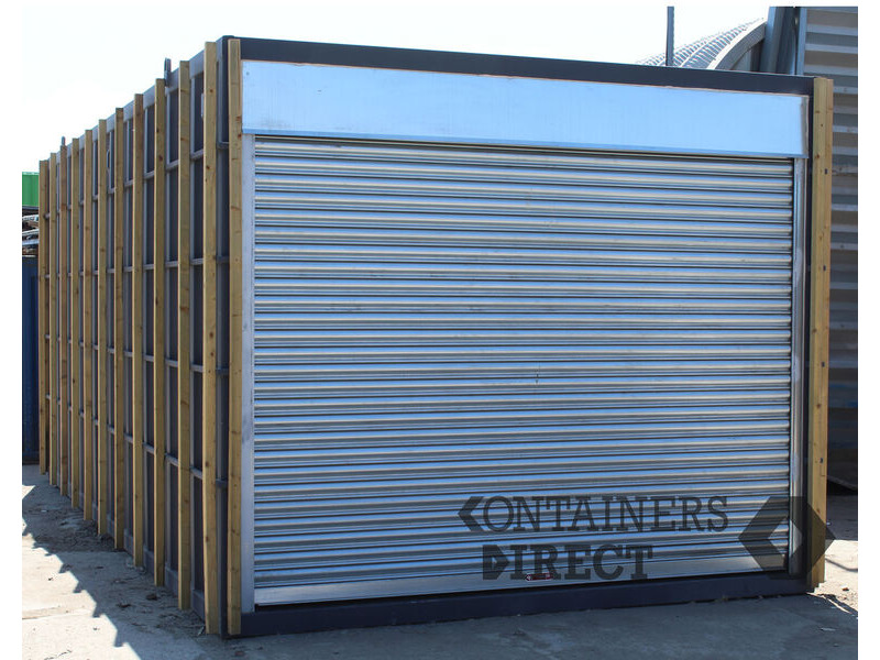 Shipping Container Conversions 20ft x10ft bespoke CarTainer click to zoom image