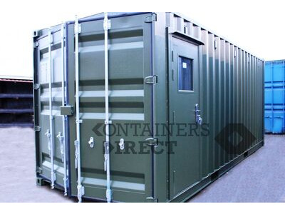 Shipping Container Conversions 20ft oil storage and lubrication centre