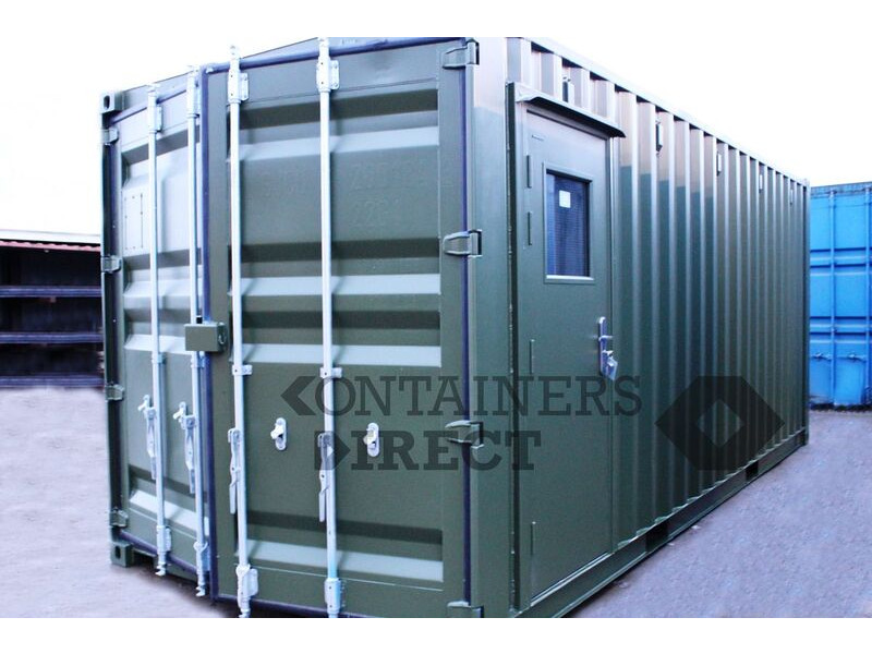 Shipping Container Conversions 20ft oil storage and lubrication centre click to zoom image