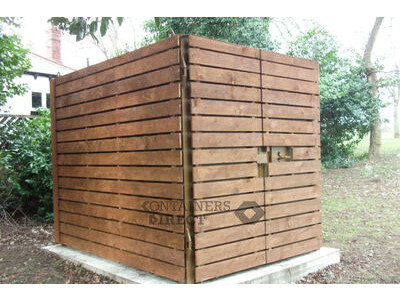 CONTAINER CONVERSIONS 10ft cladded storage container