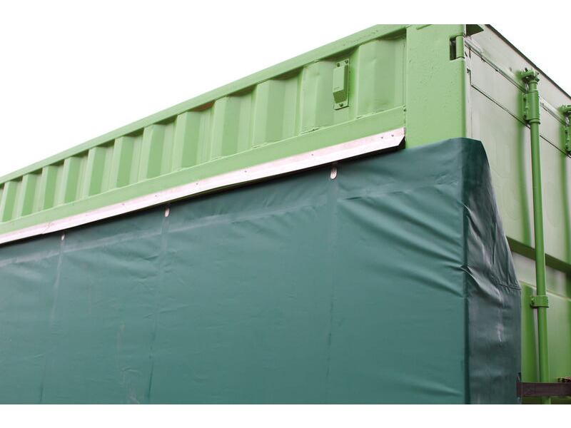 Shipping Container Conversions 40ft curtain-sider click to zoom image