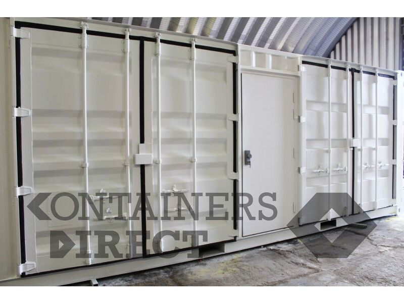 Shipping Container Conversions 30ft chemical store click to zoom image