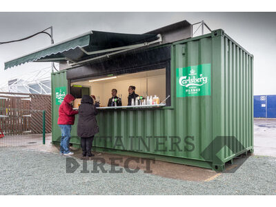 Shipping Container Conversions 20ft pop up bar