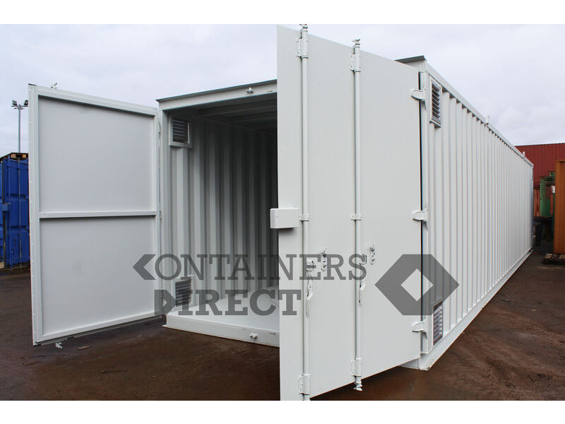Shipping Container Conversions 40ft x 10ft chemical store click to zoom image