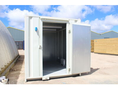 Shipping Container Conversions 11ft ply and steel lined