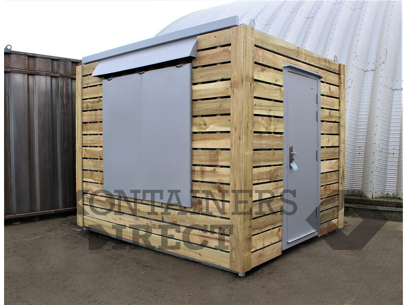 Shipping Container Conversions 10ft pop up catering unit click to zoom image
