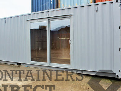 Shipping Container Conversions 30ft partitioned offices