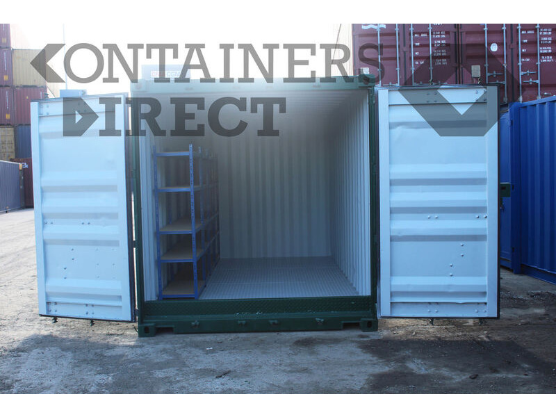Shipping Container Conversions 15ft Hawk chemical store click to zoom image