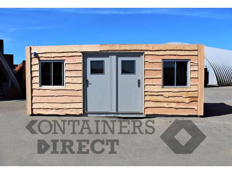 Shipping Container Conversions 20ft + 10ft wildlife enclosures click to zoom image