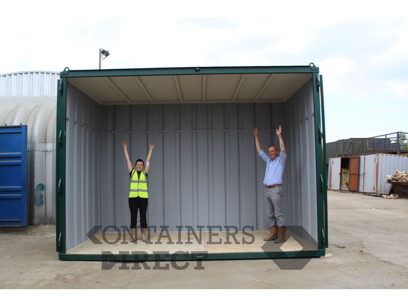 Shipping Container Conversions Extra tall 15ft container click to zoom image