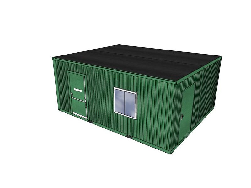 Shipping Container Conversions 20ft x 16ft StudyBox classroom click to zoom image