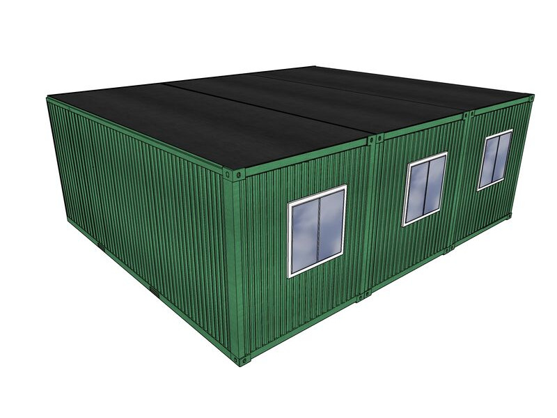 Shipping Container Conversions 20ft x 24ft StudyBox classroom click to zoom image