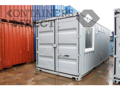 Shipping Container Conversions 2x 20ft science laboratories