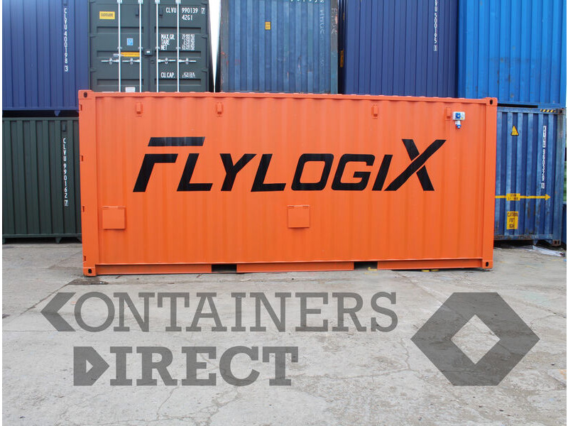 Shipping Container Conversions 20ft aerial vehicle control hub click to zoom image