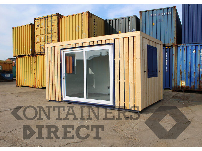 Shipping Container Conversions 14ft ModiBox[REG] office click to zoom image