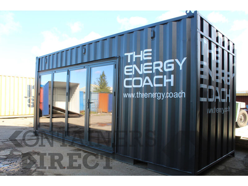 Shipping Container Conversions 20ft home gym click to zoom image