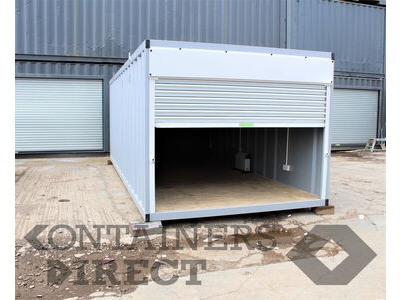Shipping Container Conversions 20ft indoor storage facility