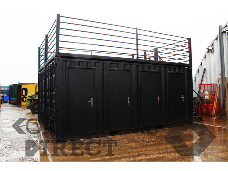 Shipping Container Conversions 2 x 20ft equipment store click to zoom image