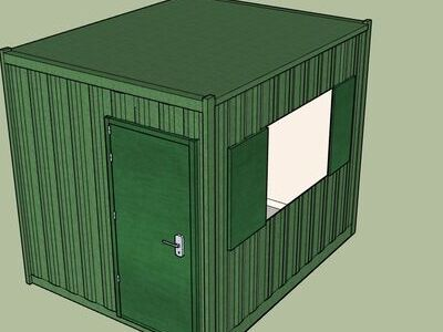 Shipping Container Conversions 10ft MenuBox