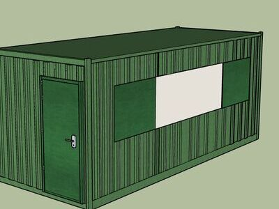 Shipping Container Conversions 20ft MenuBox