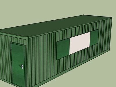 Shipping Container Conversions 30ft MenuBox