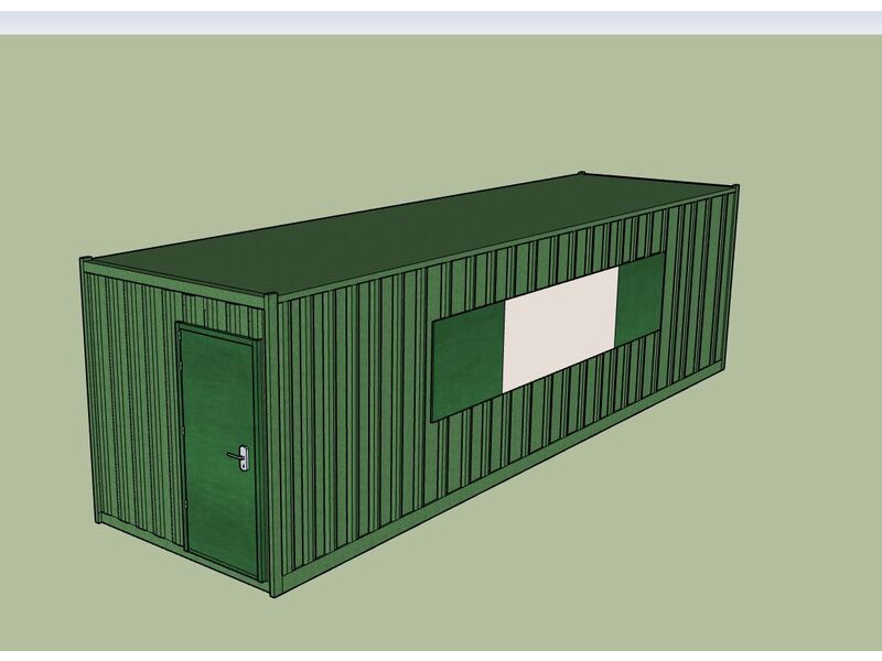 Shipping Container Conversions 30ft MenuBox click to zoom image
