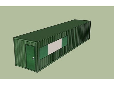 Shipping Container Conversions 40ft MenuBox