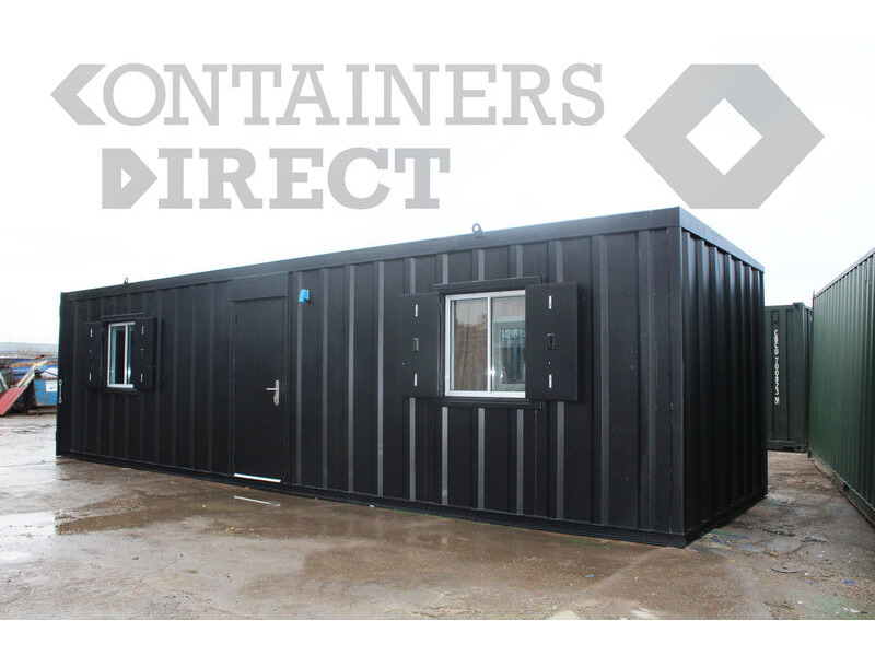 Shipping Container Conversions 32ft x 10ft living accommodation click to zoom image